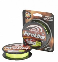 "Леска плетеная BERKLEY ""FireLine Flame Green"" 0.25mm (110m)(17.5kg)(флуор.-зеленая)"