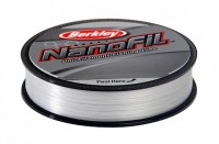 "Леска плетеная BERKLEY ""NanoFil Clear"" 0.0912mm (50m)(4.012kg)(прозрачная) 0,08мм"