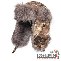Шапка-ушанка Norfin Hunting 750 Passion р.XL
