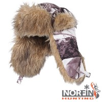 Шапка-ушанка Norfin Hunting 750 White р.XL