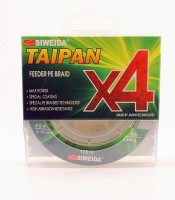 "Шнур плетеный SWD ""TAIPAN FEEDER BRAID X4"" 0,18мм 135м (#1.2, 22lb, 9,91кг, dark green)"